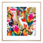 United Artworks Dance Of The Birds Giclee With Frame