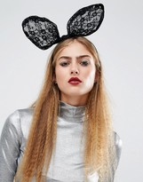 Orelia Halloween Statement Bunny Bow Headband