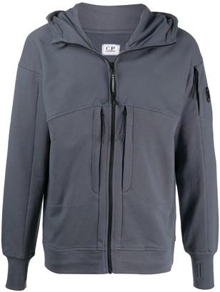 C.P. Company Cotton Zipped Hoodie