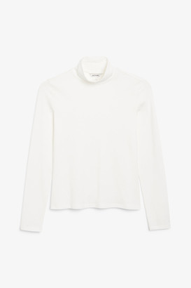 Monki Stretchy turtleneck top