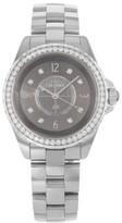 Chanel J12 H2565 Ceramic & Diamonds Quartz 33mm Womens Watch