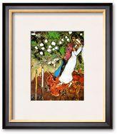 "Art.com Three Candles"" Framed Art Print by Marc Chagall"