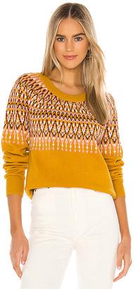 MinkPink Lean On Fairisle Sweater
