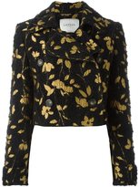 Lanvin floral embroidery jacket