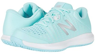 New Balance Clay Court 696v4 (Bali Blue/White) Women's Shoes