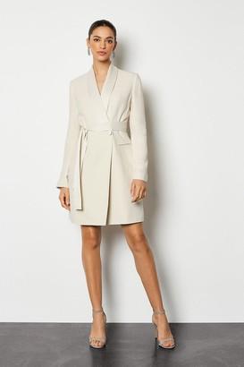 Karen Millen Tuxedo Wrap Dress