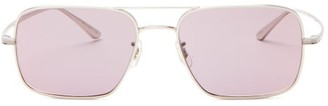 The Row X Oliver Peoples Victory La Square Sunglasses - Womens - Purple