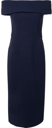 Rebecca Vallance Amore off-shoulder midi dress