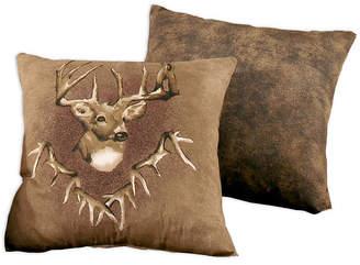 Blue Ridge Trading Whitetail Ridge Square Pillow Bedding