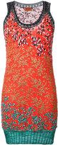 Missoni patterned mini dress - women - Viscose/Cotton/Polyester - 38