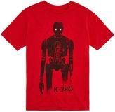 Asstd National Brand Short Sleeve Crew Neck Star Wars T-Shirt-Big Kid Boys