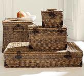 Pottery Barn Daytrip Lidded Baskets