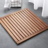 CB2 Lateral Teak Bath Mat