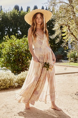 Free People Washed Ashore Maxi Dress