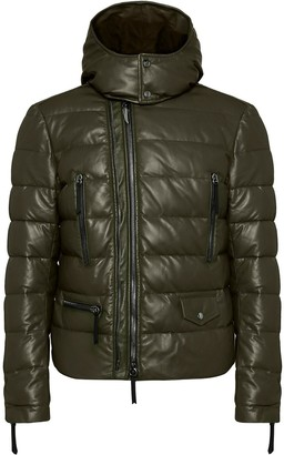 Giuseppe Zanotti Mr Jupiter padded leather jacket