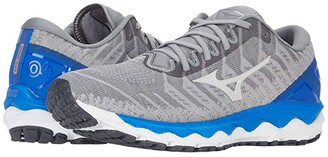 Mizuno Wave Sky 4 WAVEKNITtm (Frost Grey) Men's Shoes