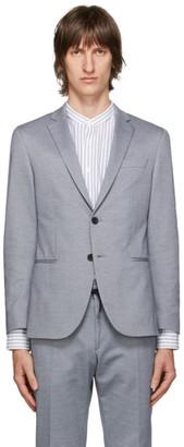 HUGO BOSS Grey Norwin4 Blazer