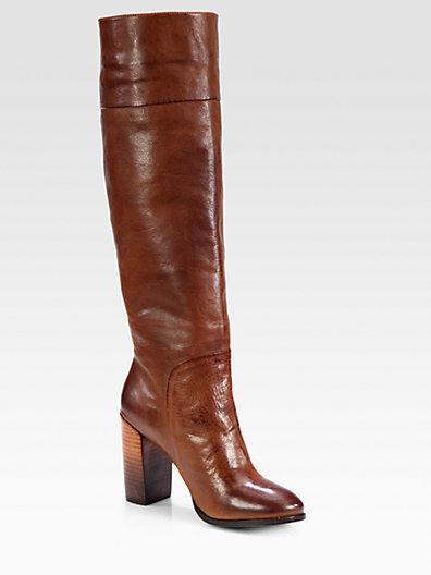 Dolce Vita Makala Leather Knee-High Boots
