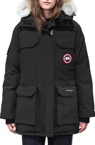 Canada Goose Expedition Extreme Weather Fusion Fit 625 Fill Power Down Parka with Genuine Coyote Fur Trim