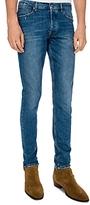 The Kooples Fitted Vintage Slim Fit Jeans in Blue