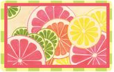 The Softer Side by Weather GuardTM 23-Inch x 36-Inch Fresh Citrus Kitchen Mat