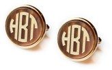 The Well Appointed House Monogrammed Round Acrylic Cuff Links - Variety of Colors Available