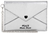 Miu Miu Embellished leather wallet