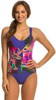 Arena Aquafit Blur One Piece Swimsuit 7536910
