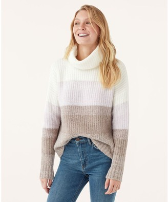Splendid Ombre Knit Pullover Sweater