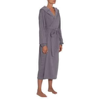 Eberjey Larken Good Sport Robe Heather Grey L