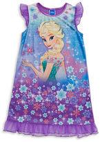 AME Sleepwear Girls Elsa Nightgown