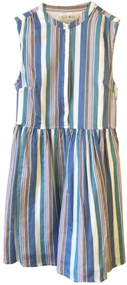 Jack Wills Turquoise Silk Dress for Women