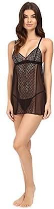DKNY Intimates Women's Nightfall-Sheer Lace Base Layers,(Size: Medium)