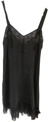 Rouje Spring Summer 2019 Black Silk Dresses