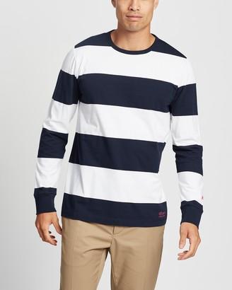 Albam Utility Block Stripe LS T-Shirt
