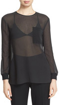 ATM Anthony Thomas Melillo Sheer Tee