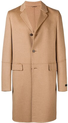 Prada Classic Single-Breasted Coat