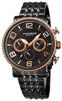 Akribos XXIV Quartz Multifunction Stainless Steel Watch, 45mm