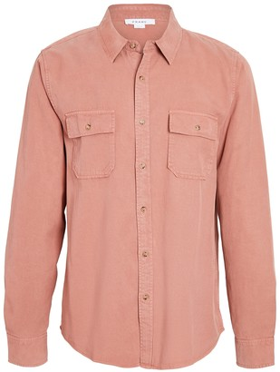 Frame Double Pocket Button Down Shirt
