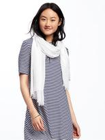 Old Navy Solid Linear Scarf