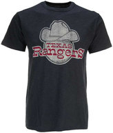'47 Men's Texas Rangers Scrum Coop Logo T-Shirt