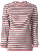 Marni knitted striped top