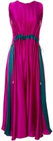 Roksanda Heliotrope drawstring dress