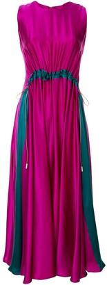 Roksanda Heliotrope drawstring dress