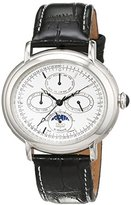 Trias men's Automatic Watch Analogue Display and Leather Strap TR-T21584-W