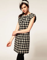 Amy Winehouse By Fred Perry Houndstooth Dress