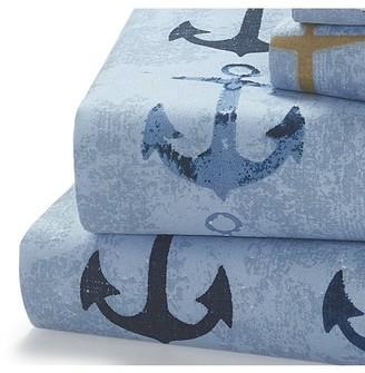 Harper Lane Anchors 4-piece King-size Sheet Set