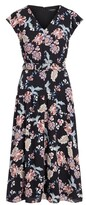 Thumbnail for your product : Lauren Ralph Lauren Ralph Lauren Floral Belted Crepe Midi Dress