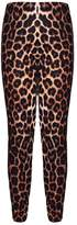 Aelstores. Girls T-Shirt Leopard Print Crop Top Age Size 7-13 Years