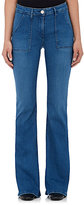 3x1 WOMEN'S W2 MILITARY FLARE JEANS